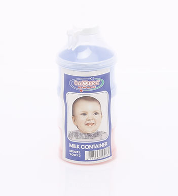 Camera Baby Milk Container