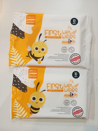 K-Mom First wet Wipes Promise 10pcs