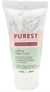 Purest Organic Soothing Nappy Diaper Cream (30ml)