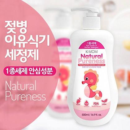 K-Mom Natural Pureness Feeding Bottle Cleaser (Liquid Type) 500ml