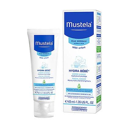 Mustela Facial Cream Moisturizes and strengthens