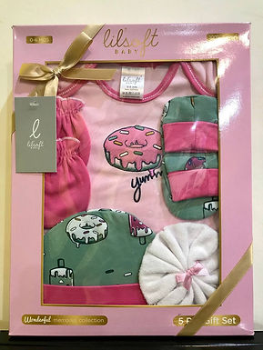 Lilsoft Baby Gift Set 100% cotton