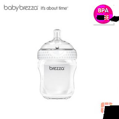 Babybrezza Natural 9oz Baby  Bottle - 3m+