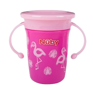 Nuby Trainer Sipeez 360 Degree Wonder Cup - 240ml