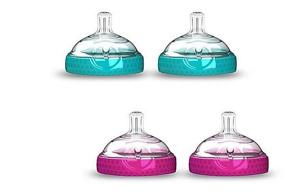Babybrezza Baby Bottle Nipples - 2pcs