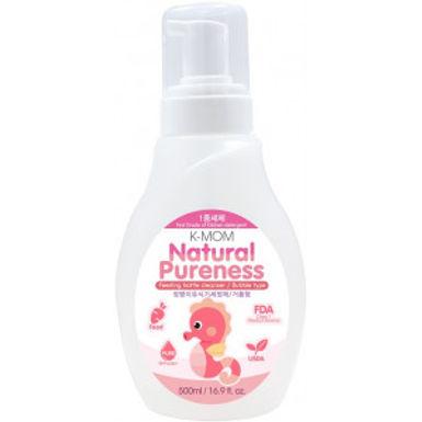 K Mom Natural Pureness Feeding Bottle Cleanser (Bubble type) 500ml