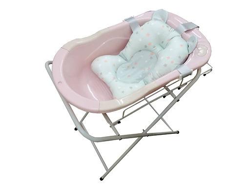 Bebecom 2 1in 1 Baby Bath Tub Stand