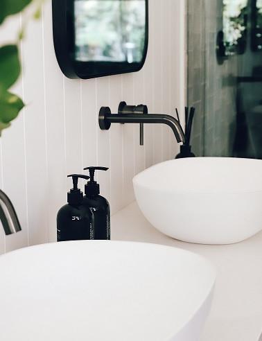 Ensuite Bathroom Zellige Tiles