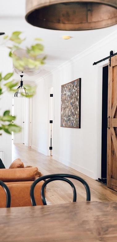 Hallway Custom Barn Door