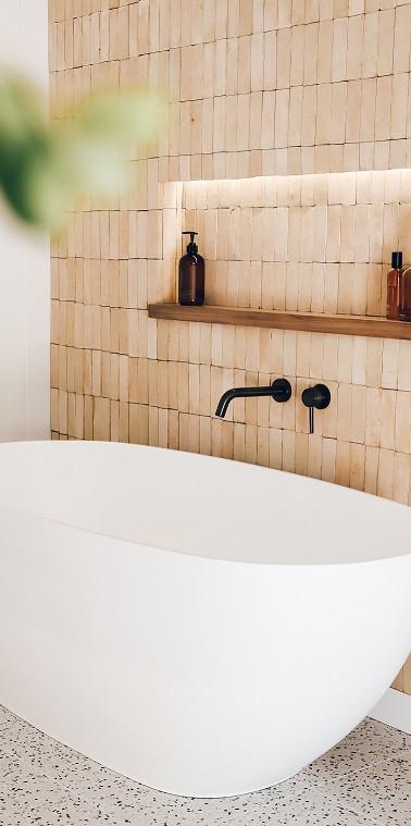 Main Bathroom - Bejmat Tiles