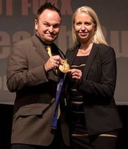 Emi Golding & Stephen Bradbury