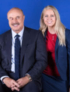 Emi Golding with Dr Phil