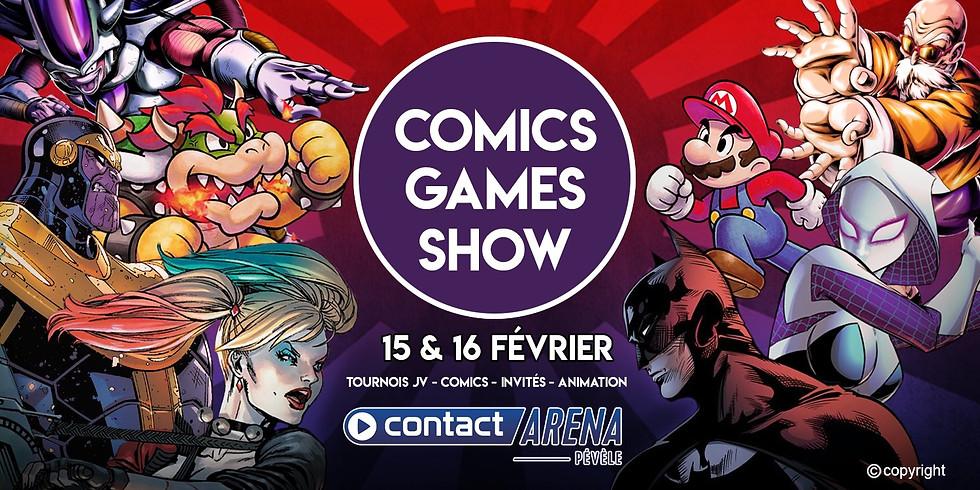 Comics Games Show