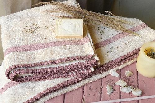 2 Pcs hand towel set - طقم فوط 2 قطعه