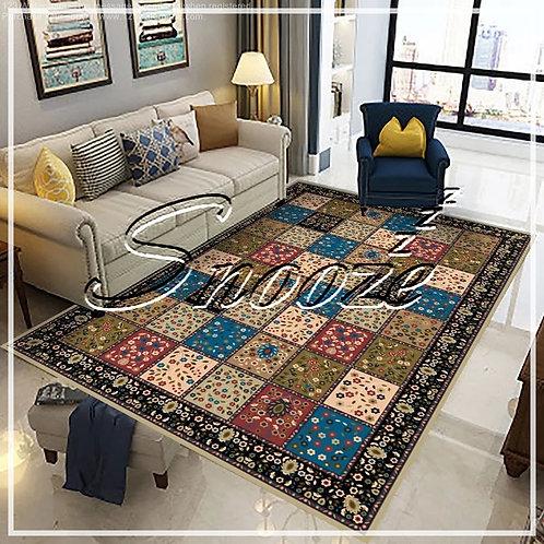 Carpet Protector- Tiny rose Design - حافظة سجادة