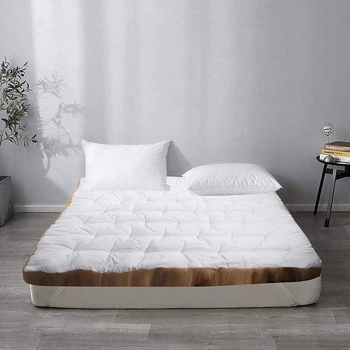 Snooze Mattress topper+ Free Fiber Pillow - مرتبة تطرية سنوز+ وسادة فايبرهدية
