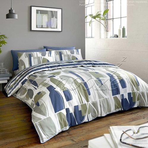Fitted bed sheet set ( Rainforest design) - طقم سريرملاية بأستيك(تصميم رينفورست)