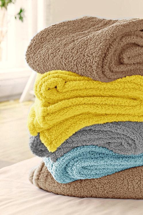 Flat Bed Fleece - دفاية عادية للسرير