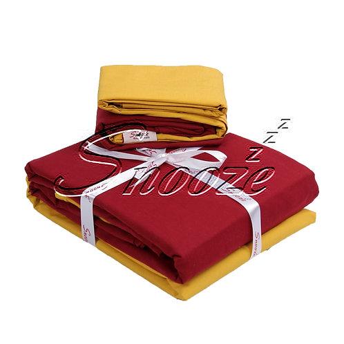 Plain flat bed set, Mix & Match -  طقم سريرسادة