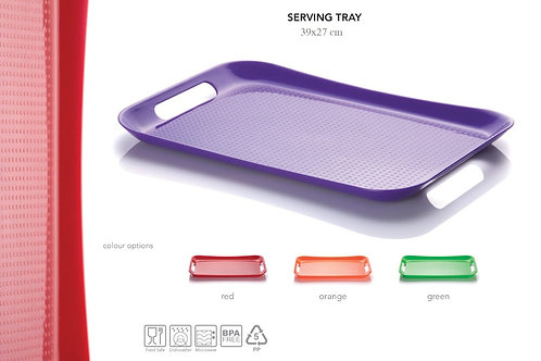 Serving plastic Tray, 39*27 cm