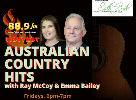 A new and exciting Australian Country Music Countdown on Radio 88.9fm will commence this Friday