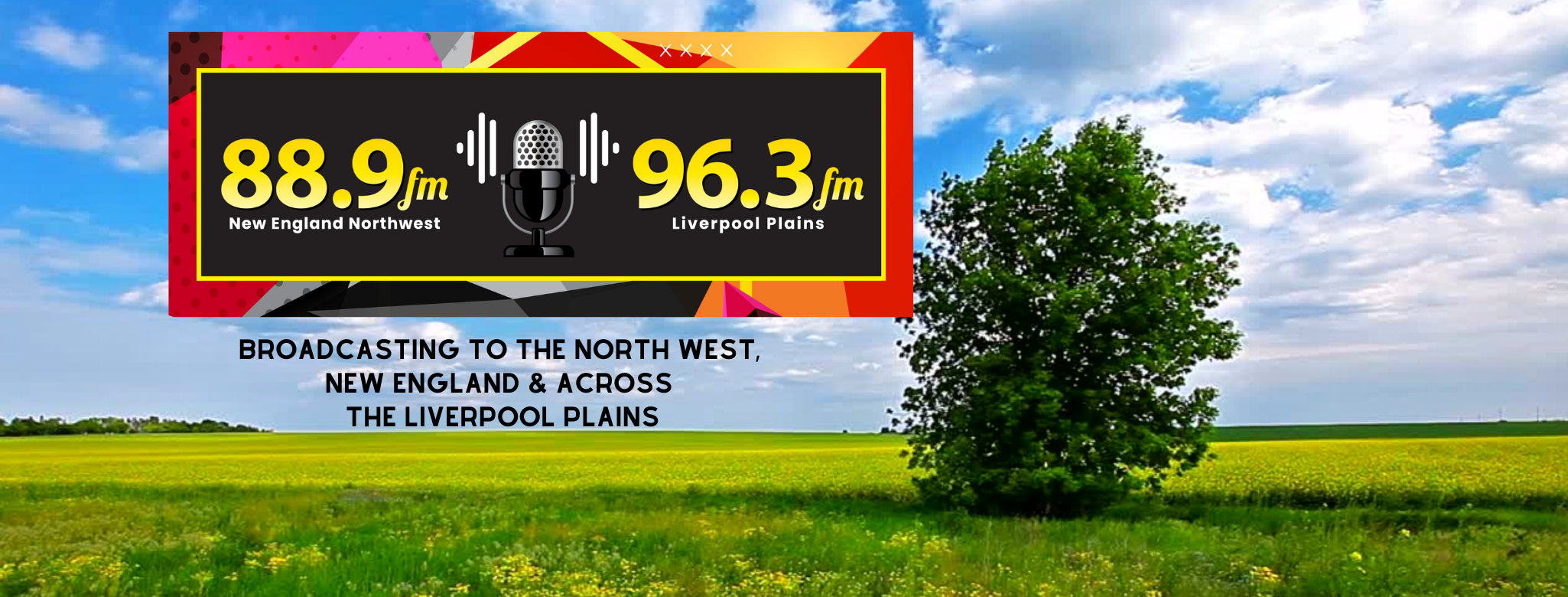 BROADCASTING TO THE NORTH WEST, NEW ENGL