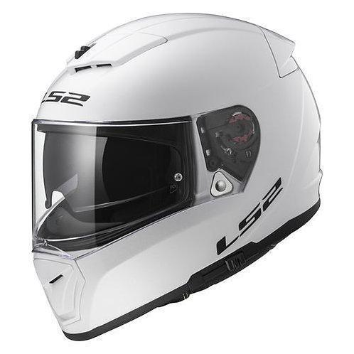LS2 FF390 Breaker Solid Gloss White
