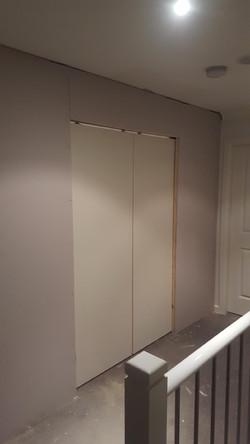 Wall With Internal Sliding Door