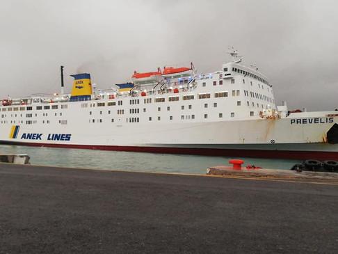 Παράταση περιορισμού μετακινήσεων επιβατών με πλοία της Ακτοπλοΐας από της 19/4 έως 26/4.