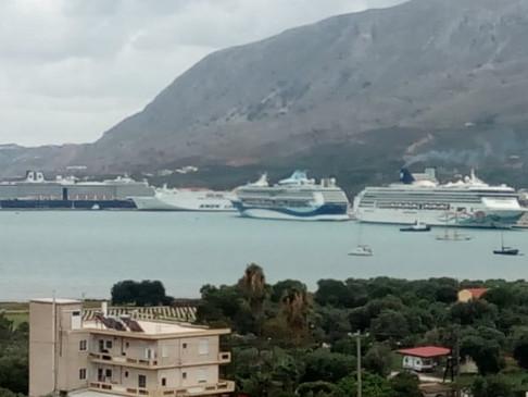 Αναστέλλονται ταξίδια ιταλικής εταιρείας κρουαζιέρας στην Κρήτη