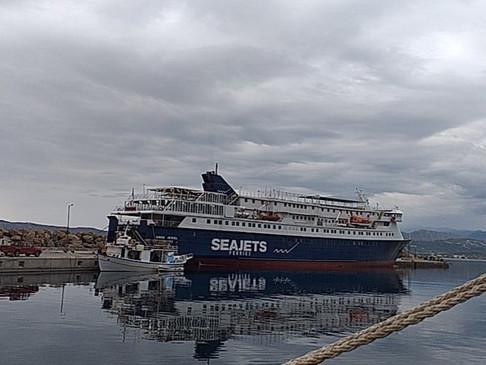 Ευχαριστήριο προς το πλήρωμα του AQUA JEWEL, για την διάσωση ανθρώπινης ζωής, από πτώση στη θάλασσα