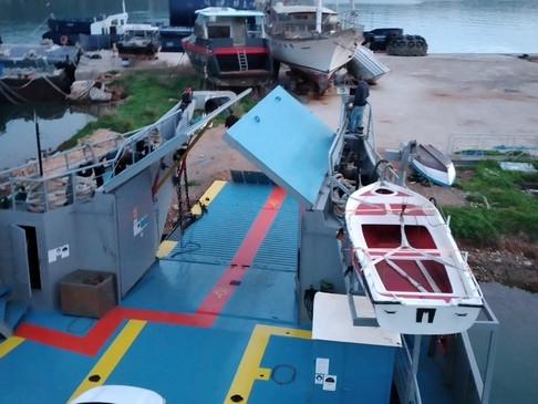 Αναχώρησε το Σαμαριά 1 από το λιμάνι της Σούδας.