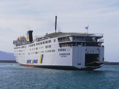 Αλλαγές στα δρομολόγια του πλοίου «Πρέβελης»