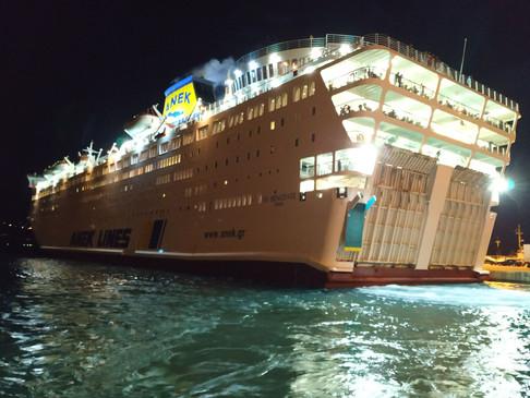 Σοβαρός τραυματισμός γυναίκας στο πλοίο για Χανιά