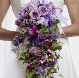 Blissful Love Cascade Bouquet