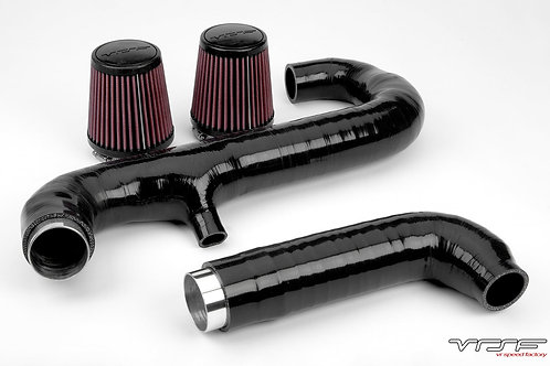 VRSF Relocated Silicone High Flow Inlet Intake Kit N54 07-10 BMW 135i335i