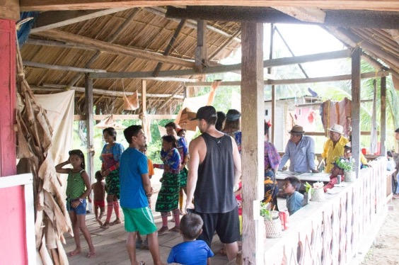Cultural exchange with the community of Guna Yala, Panama, 2018