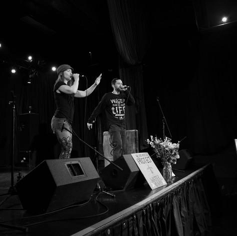 Standing Rock Water Protector benefit show, 2017