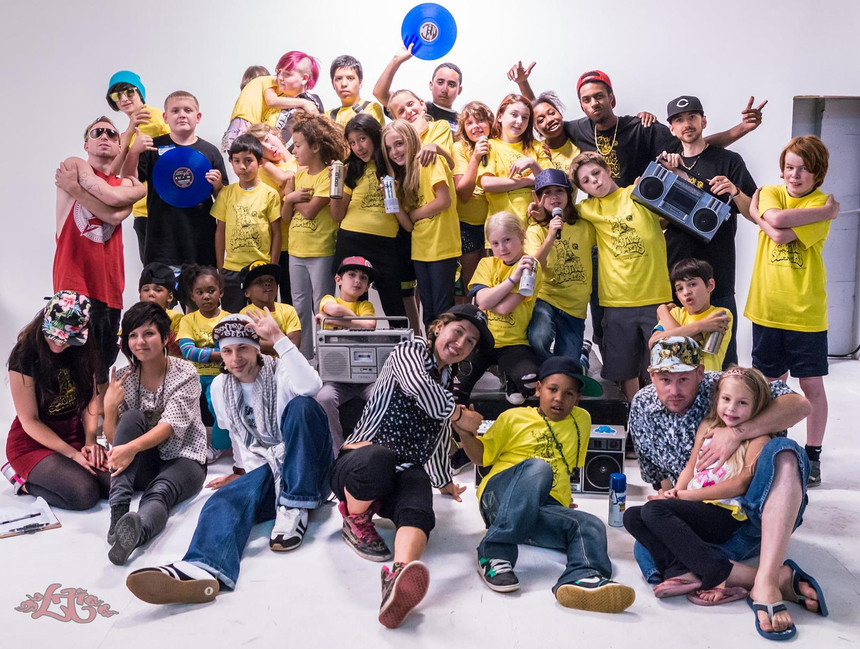 Creative Summers youth Hip-Hop camp, 2014
