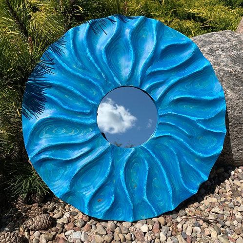 """Зеркало """"Blue Sun"""". Цена 150 рублей."""