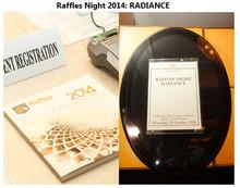 Raffles Night 2014