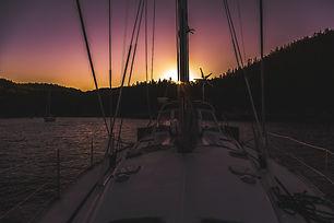 coucher de soleil sur le Ford du Saguena