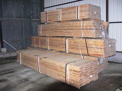 Pitch pine flooring