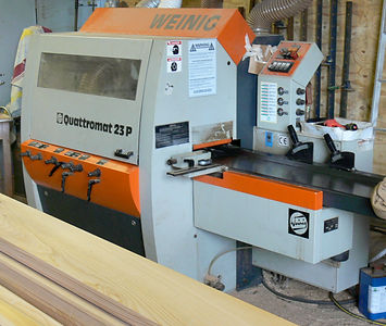Bespoke wood machining & moulding