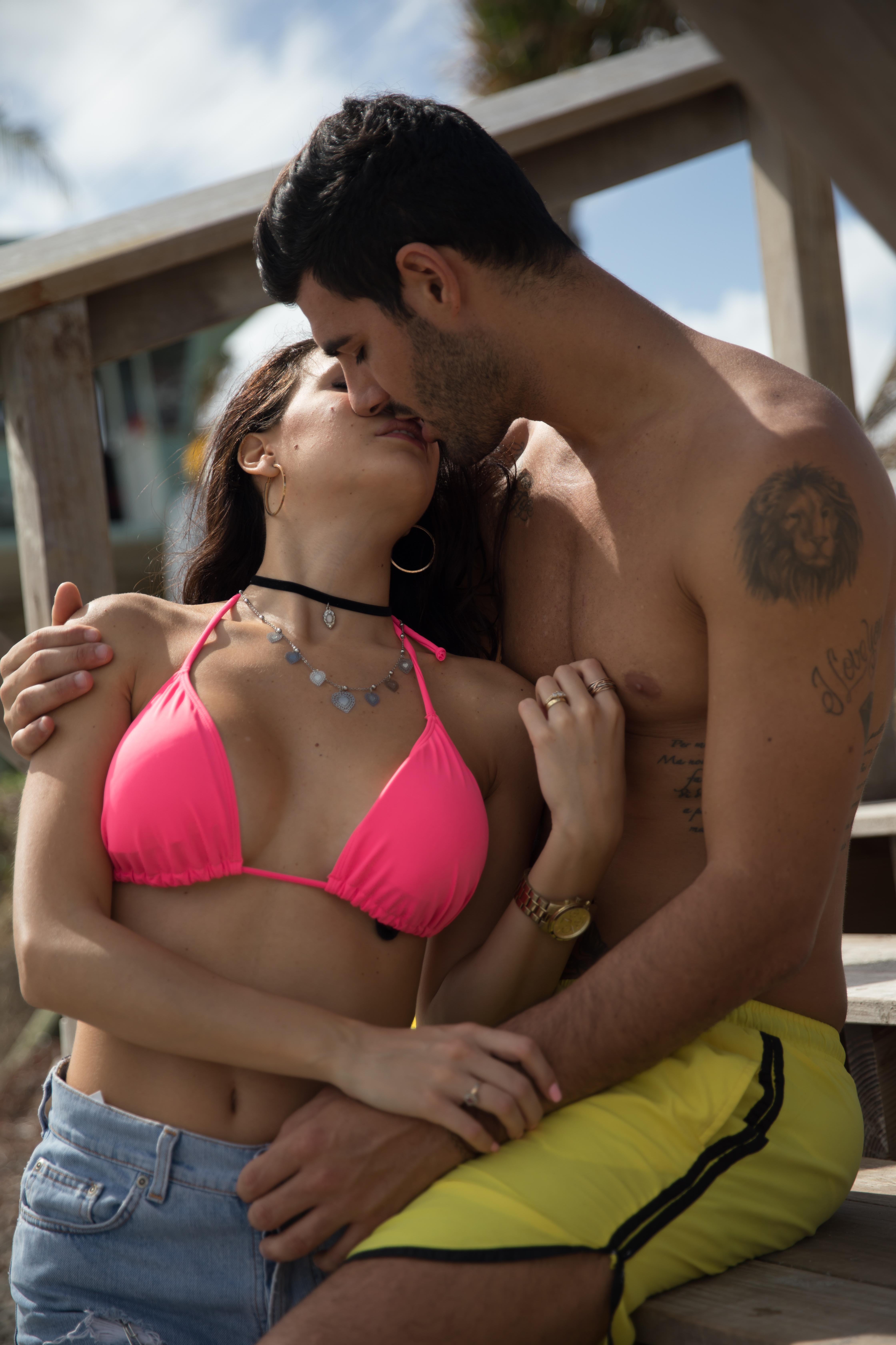 Couple in Miami, Florida