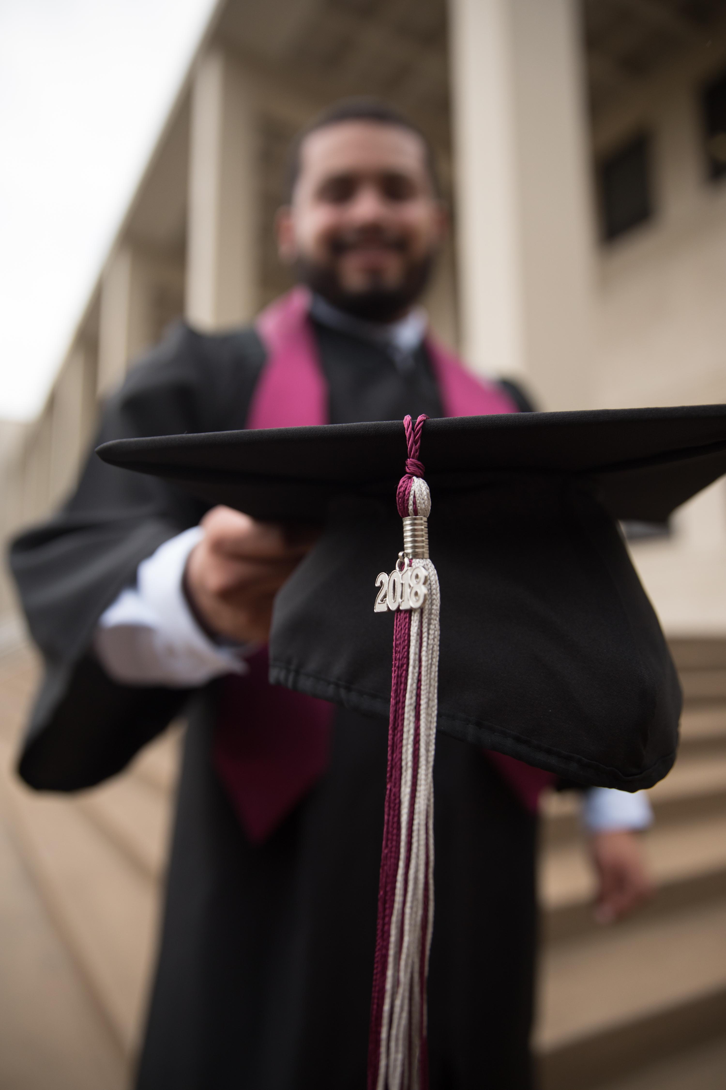 Graduation Cap Portrait
