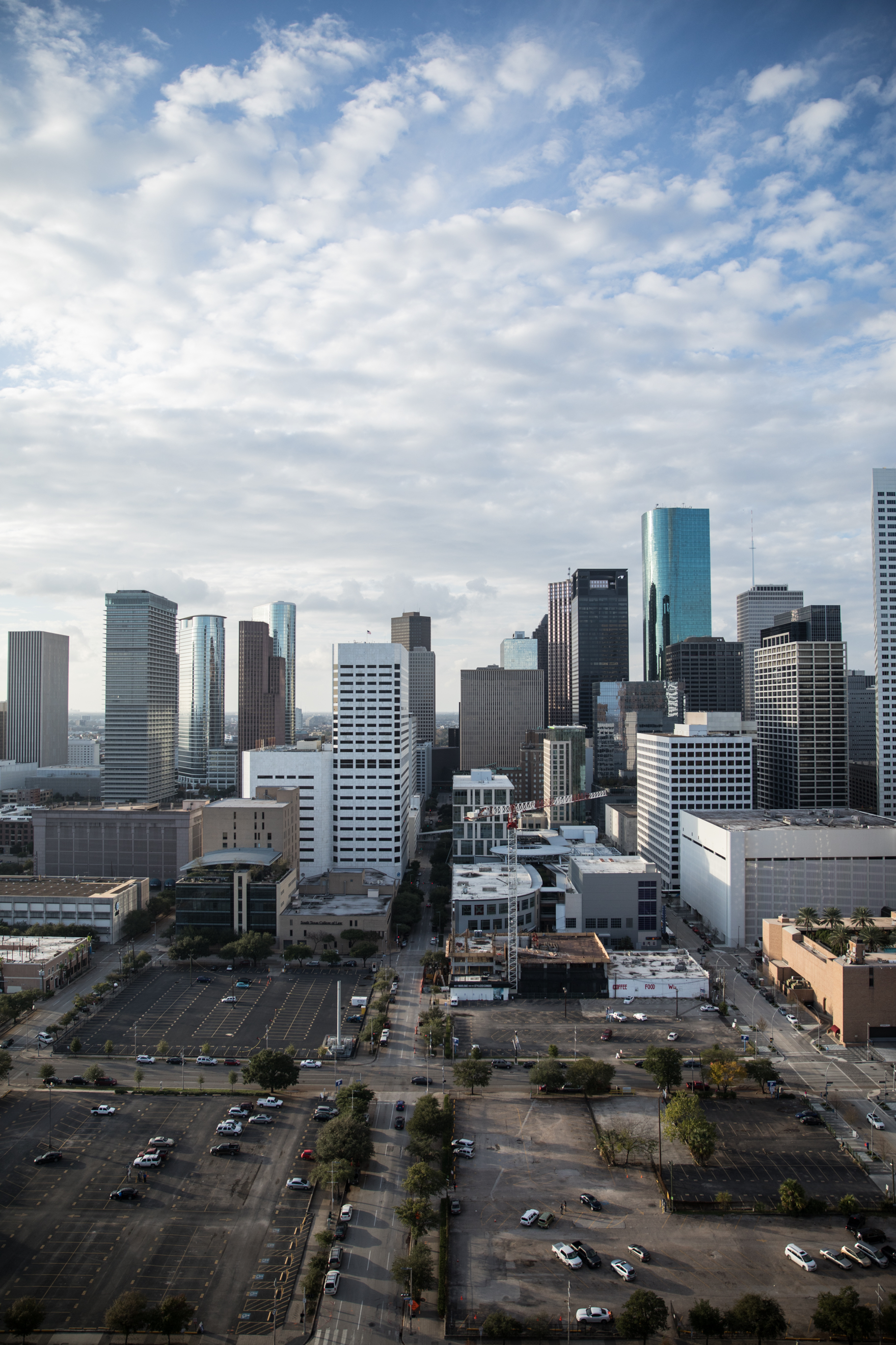 City view of Houston