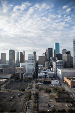 City view of Houston
