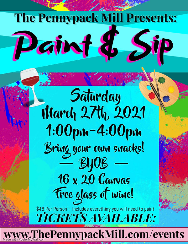 Copy of Paint and Sip Party - Made with