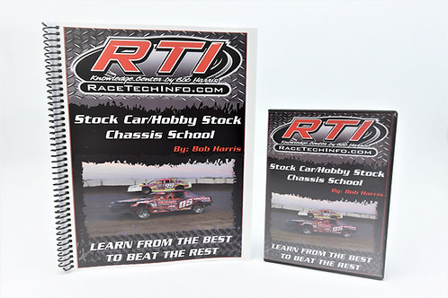 Stock Car/Hobby Stock Race Tech Info Chassis Schools DVD
